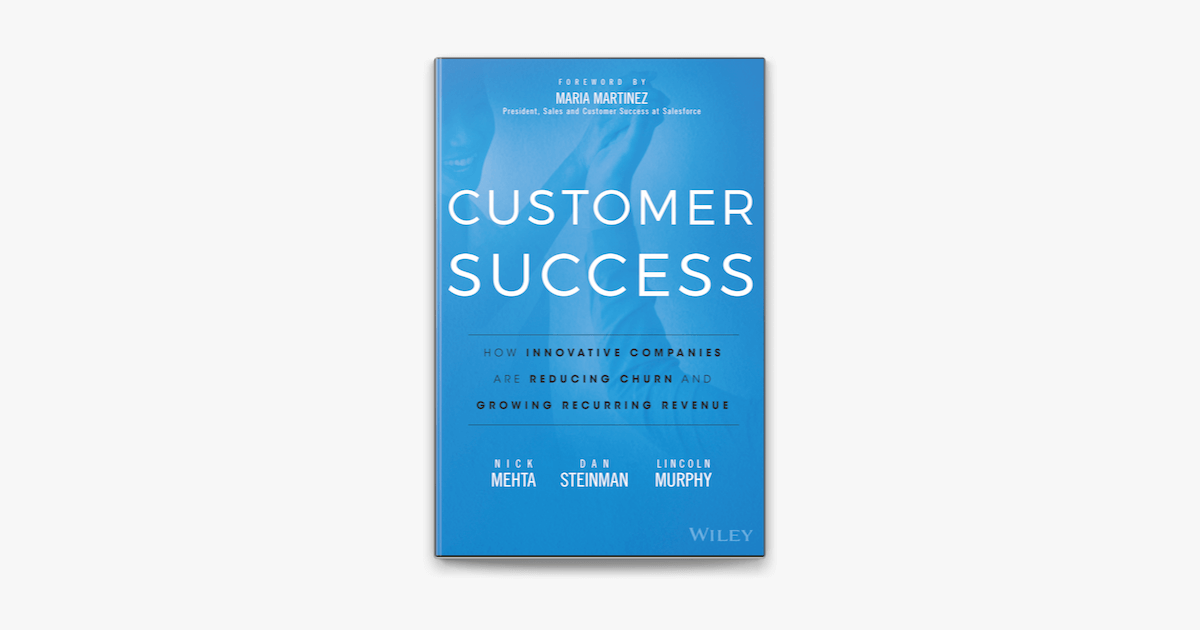 Image of the Customer Success front cover