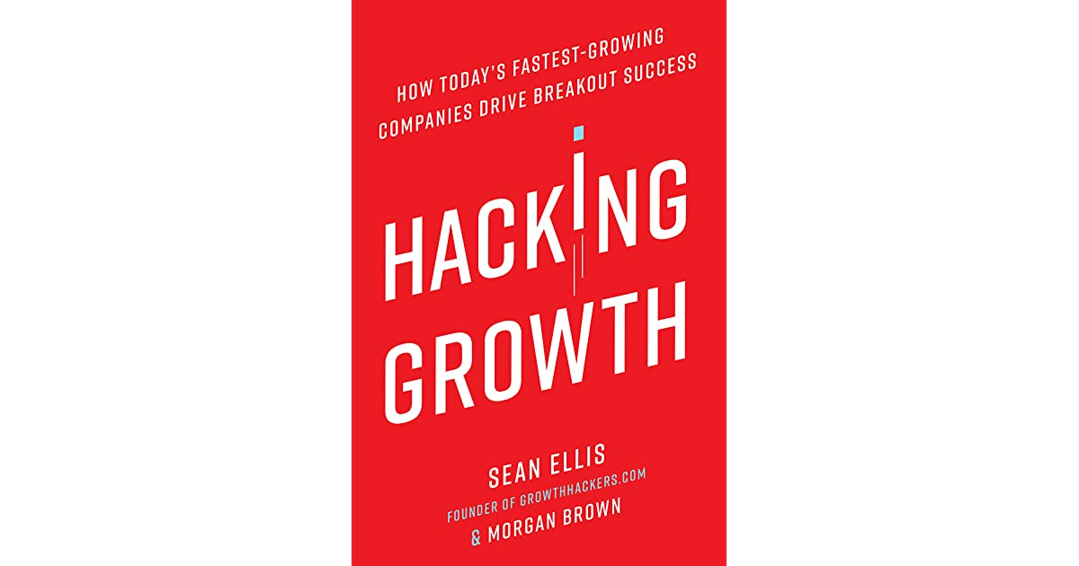 Front cover of Hacking Growth