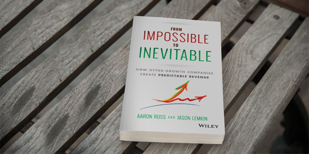 Image of From Impossible to Inevitable lying on a bench