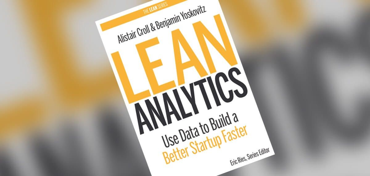 Image of Lean Analytics front cover