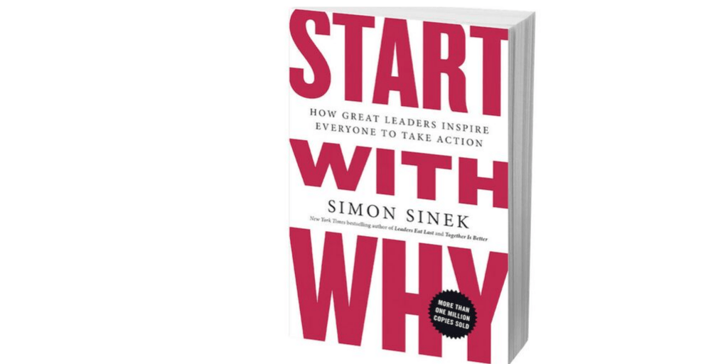 Image of the paperback version of Start with Why